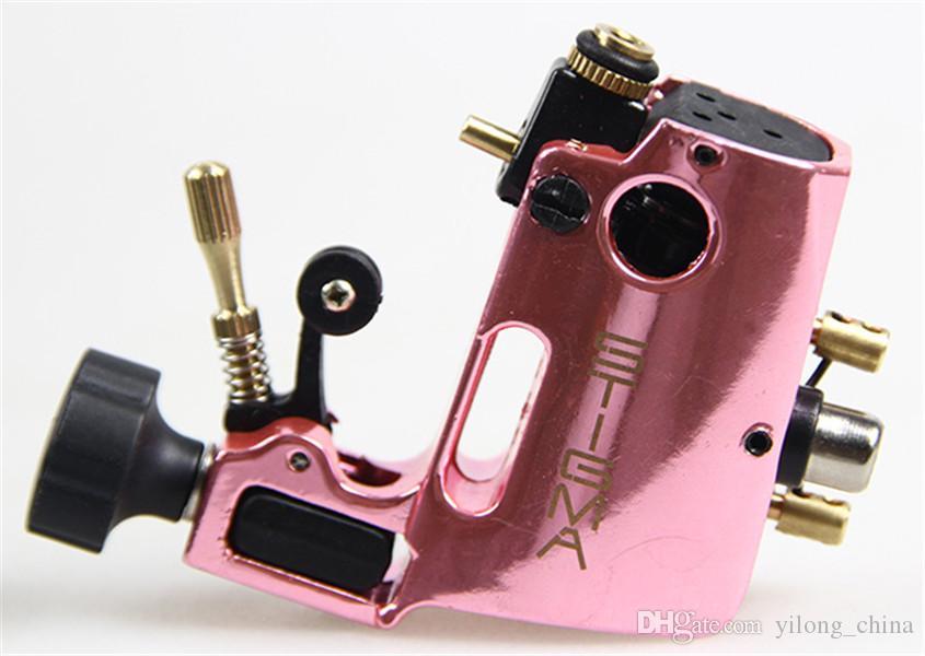 Tattoo Maschine Hohe Qualität Stigma Hyper V3 Tattoo Maschine Rosa Farbe Rotary Gun Für Shader Und Liner Kostenloser Versand