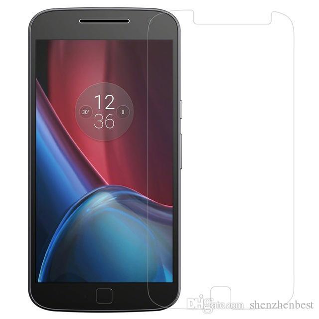 2.5d HD Pour Motorola MOTO XT1032 / G2 / Jeu E / X / X Style / X2 / XT1056 / E2 E-LTE / XT907 / G3 Verre Trempé Protecteur d'écran protecteur film avant 100pc