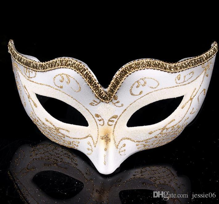Men And Women Leather Masquerade Ball Costume Dress Prom midnight Party Eye Mask
