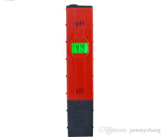 Dijital Arka Işık 0.01 LCD PH ATC Metre Kalem Testi Su Quility Akvaryum Havuz Şarap İdrar Monitör