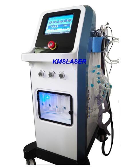 7 in 1 Tecnologia Israele Micro Ago Ago Microodermabrasione Jet Peel Multi-funzionale Macchina di ringiovanimento della pelle Hydrafacacial Multi-Funzionale per SPA