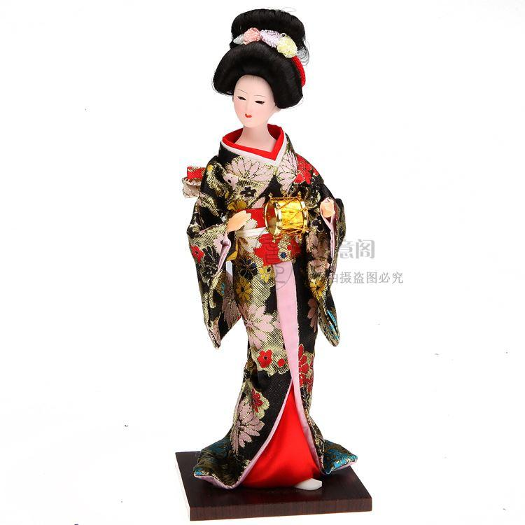 Spedizione gratuita Tang Fang kimono di seta decorazione decorazione decorazione artigianato Arredamento Per La Casa bambola umanoide
