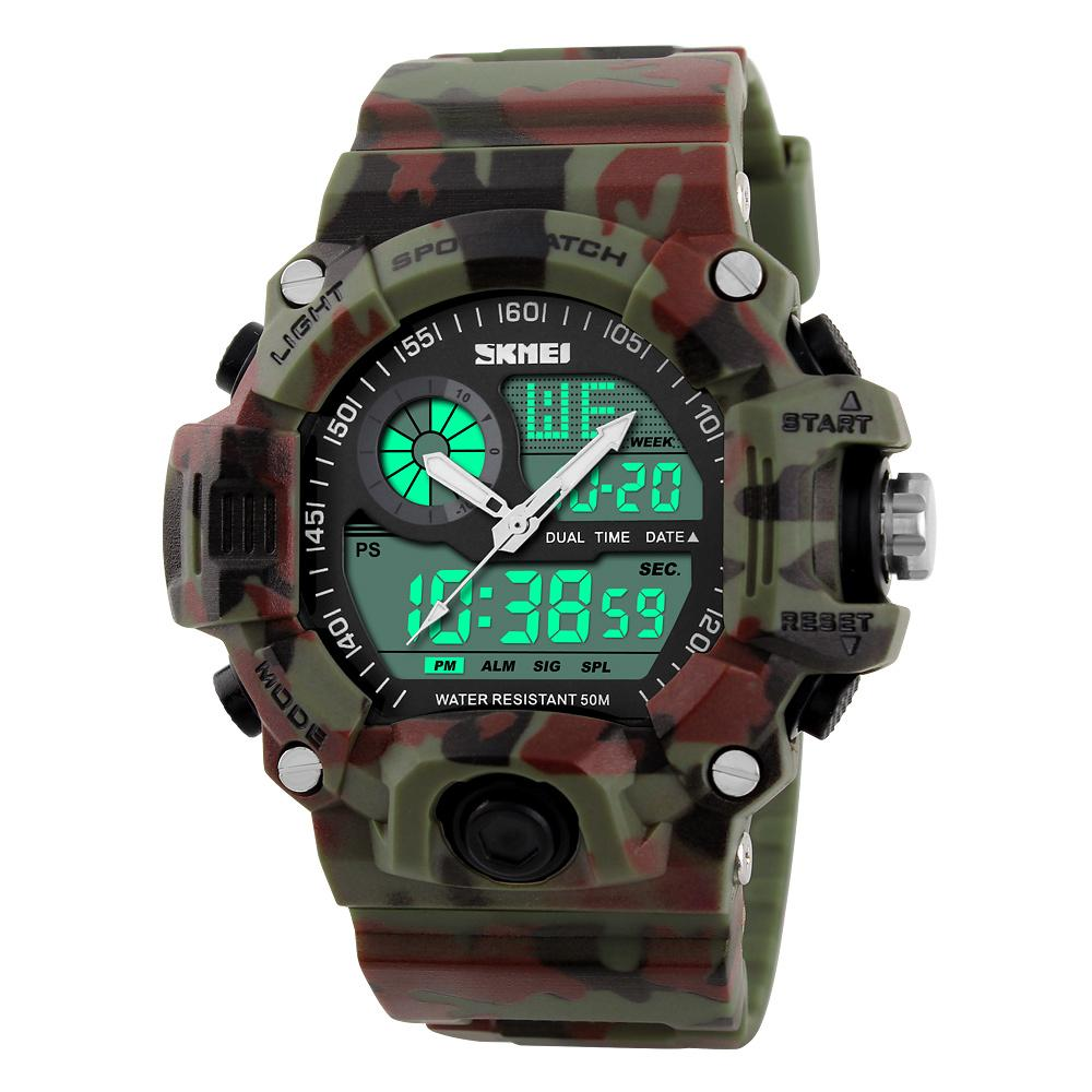 S-Shock Men Sports Watches LED Digital Watch Fashion Brand Outdoor Waterproof Rubber Army Military Watch Relogio Masculino Drop Shipping