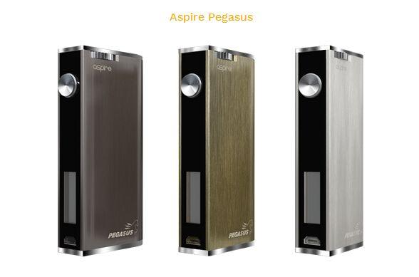 100% original aspire Pegasus Mod Pour les cigarettes électroniques