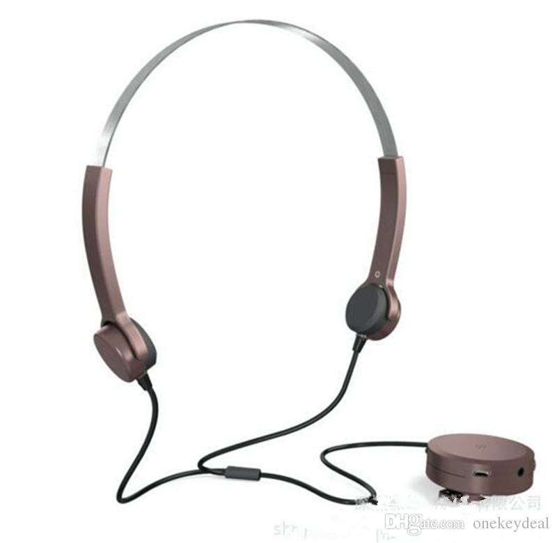 Waterproof Hearing Aids Wired Bone Conduction Headphones Earphones With Adjustable Neckband In Clip Design For Phone Music Wifi Headphones Wireless Sport Headphones From Onekeydeal 59 89 Dhgate Com