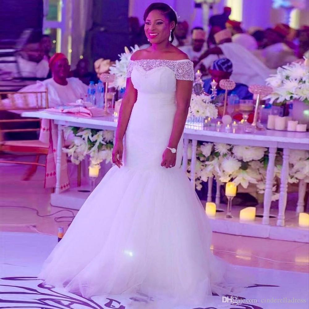 Großhandel 2017 Dubai Arabisch Meerjungfrau Brautkleider Weg ...
