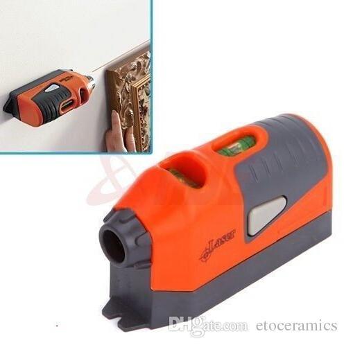 Laser Level Guided Leveler mit eingebauten Libellen und wiederverwendbarem Klebstoff
