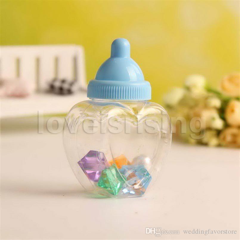 Nuovi arrivi-24pcs / lot Biberon Contenitore di biberon Biberon Baby Shower Battesimo Regali Bomboniere Rifornimenti del partito