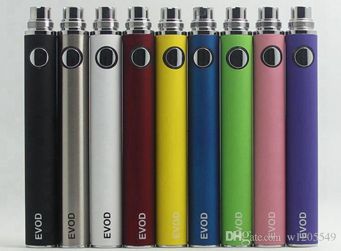 Batteria EVOD per sigaretta elettronica 650mah 900mah 1100mah adatta a tutte le serie eGo Kit CE4 CE5 MT3 da w1205549