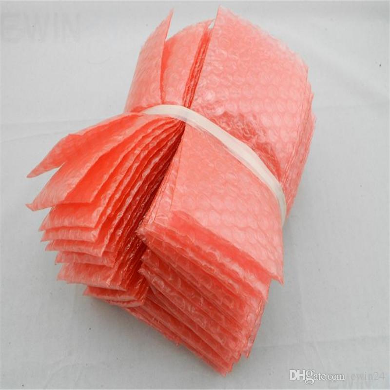Envelopes bolha Envoltório Sacos Bolsas Bolha Almofada Envoltório Embalagem PE Mailer Embalagem 180mm x 90mm Frete Grátis