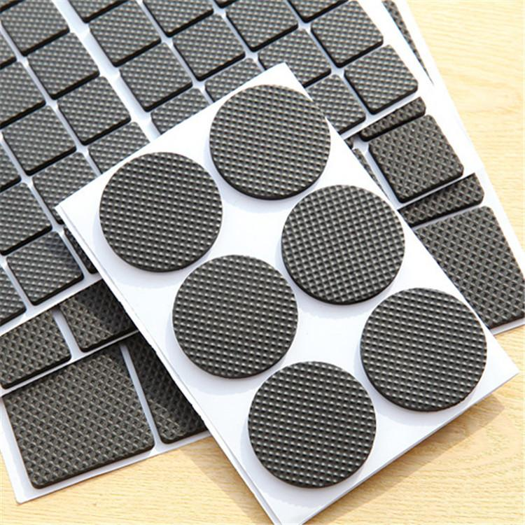 Wholesale-Multifunctional Thicken Soft Rubber Table Leg Pad Chair Mat Fashion Indoor Decoration Furniture Protection Anti Scratch