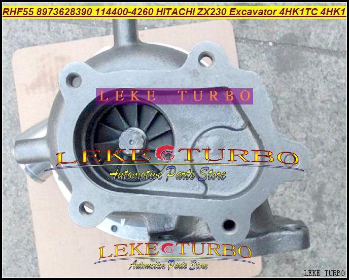 RHF55 ZX230 Excavator 4HK1 4HK1TC 4HK1-T 8973628390 114400-4260 Turbo turbocharger (02)