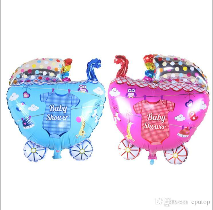 Large Boy Girl Foil Helium Air Balloons Baby Shower Birthday Party Accessories