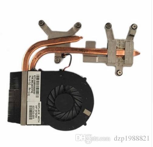 enfriador para HP DV6-3000 DV7-4000 DV6 DV7 ventilador del enfriador con disipador de calor de refrigeración 631743-001 610777-001 610778-001 606575-001
