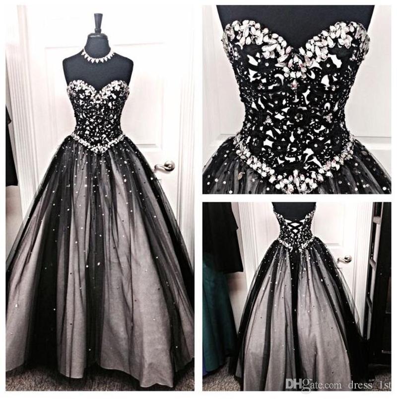 Sparkly Black Wedding Dress 57 Off Plykart Com