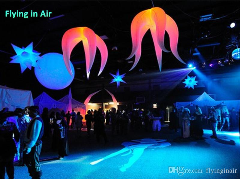 5ft / 2M LED 특수 풍선 빛 장식 클럽 및 바 파티 장식에 대 한 맞춤형 매달려 풍선