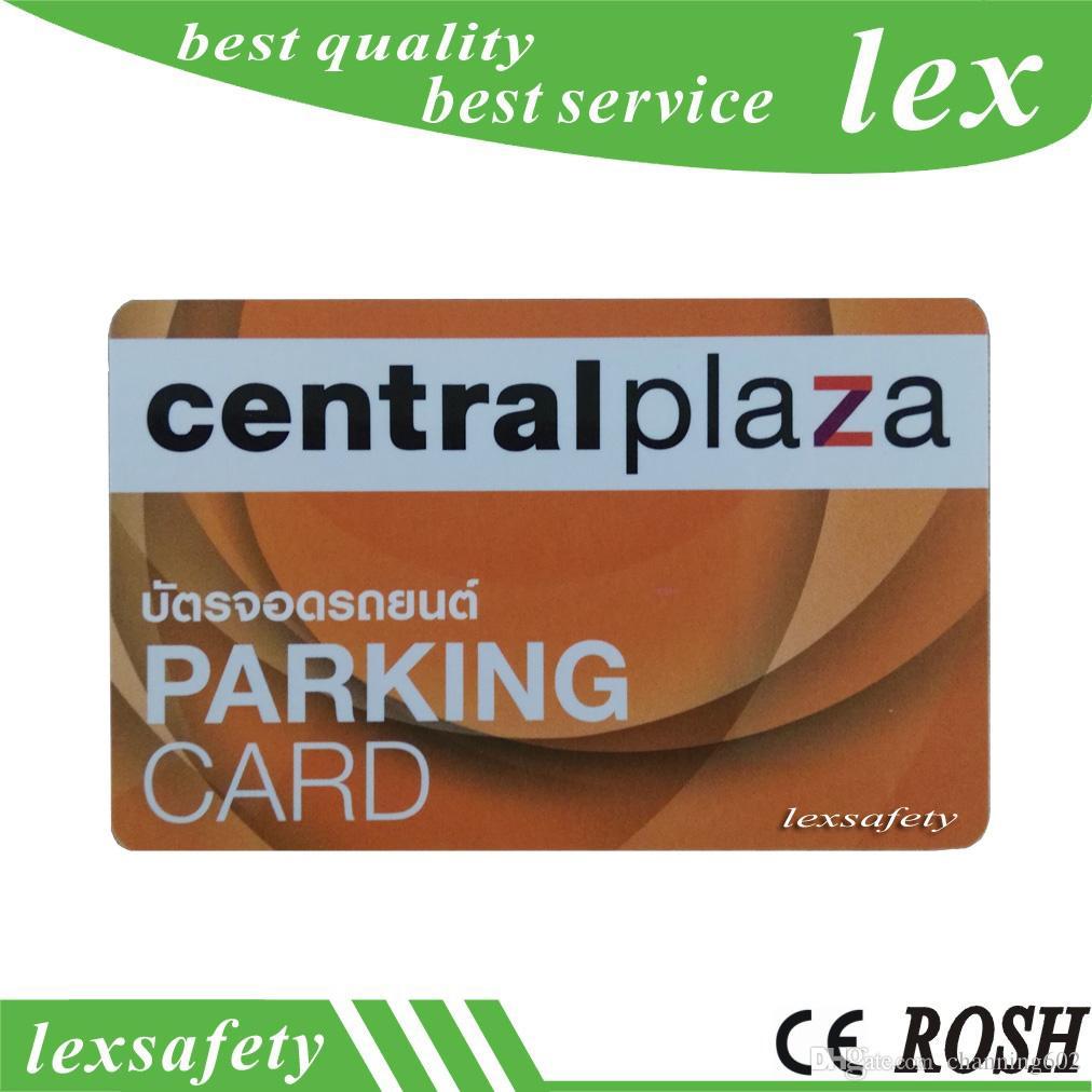Meilleur prix des cartes à puce faisant 500pcs / lot F08 1K 13.56MHZ ISO14443A proximité clair pvc carte à puce ic sans contact