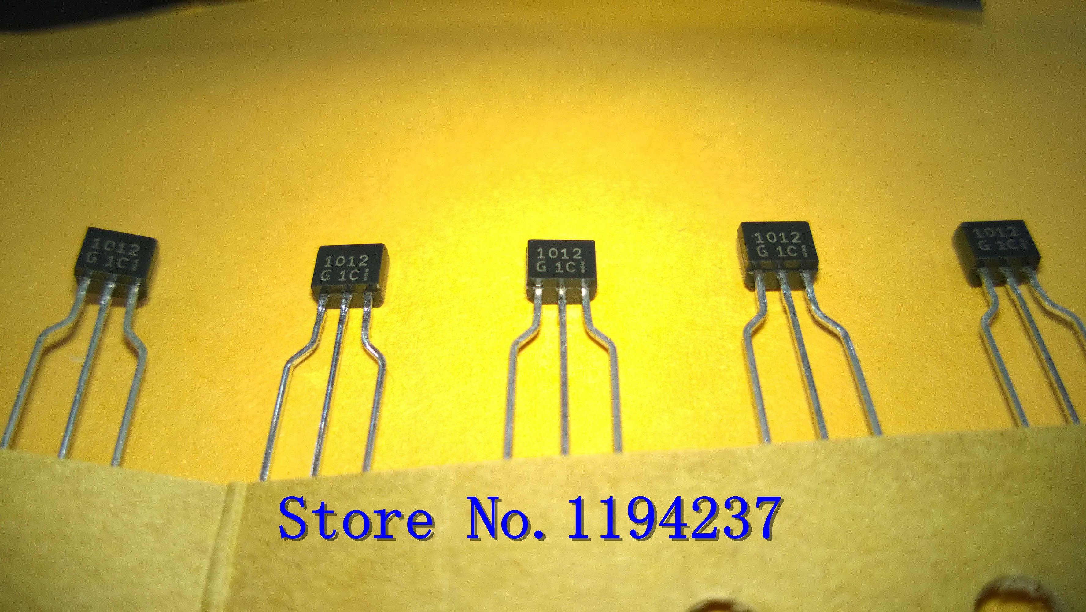 Livraison gratuite 2SD1012G 2SD1012 1012 1012G TO-92 nouveau et original 10PCS / LOT