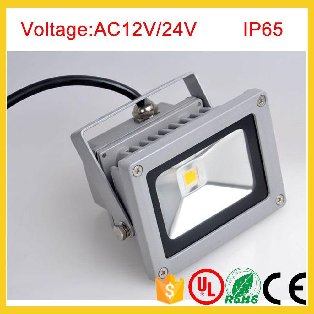 AC12V 24V 10W LED Proiettori a luce di inondazione impermeabile illuminazione a led per esterni illuminazione per esterni