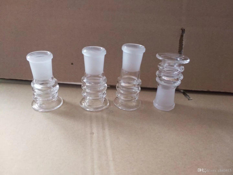 Novo adaptador multi-roda, Bongos de vidro por atacado, Hookah de vidro, acessórios de tubo de fumaça