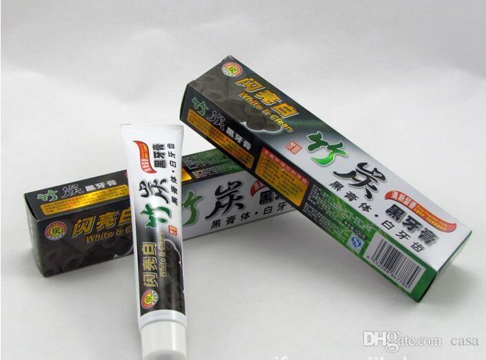 2017 neue holzkohle zahnpasta weiß und sauber schwarz zahnpasta bambus mundhygiene zahnpasta hohe qualität dhl free