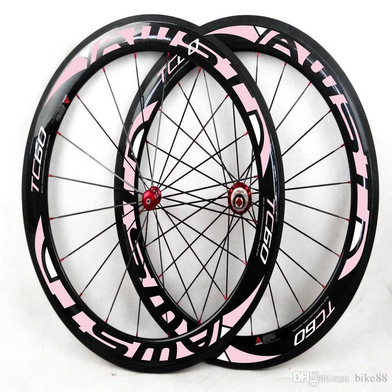 AWST full carbon bike wheels taiwan bicycle carbon wheelset 60mm clincher shiman0 11s DT 350 hubs bicycle wheels girl bike wheels carbon