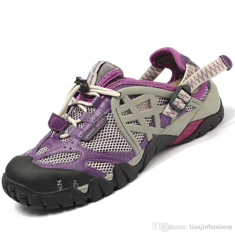 Zapatos casuales Hombres Zapatillas de deporte al aire libre Zapatos de senderismo transpirables Hombres de gran tamaño Mujeres sandalias de senderismo al aire libre Hombres Senderismo Sandalias de agua