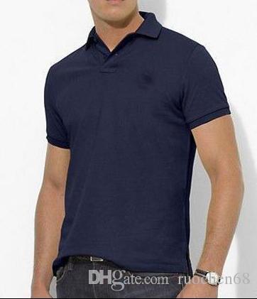 FREE SHIPPING الرجال الصيف قميص قصير الأكمام الرجال الرياضية عارضة تي شيرت قمصان الجولف 100 ٪ CONTON PONY SIZE S-XXL