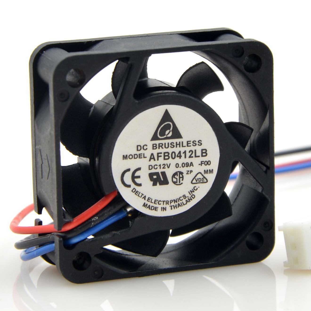 Delta AFB0412LB 4015 12V 0.09A ventilador de refrigeración axial