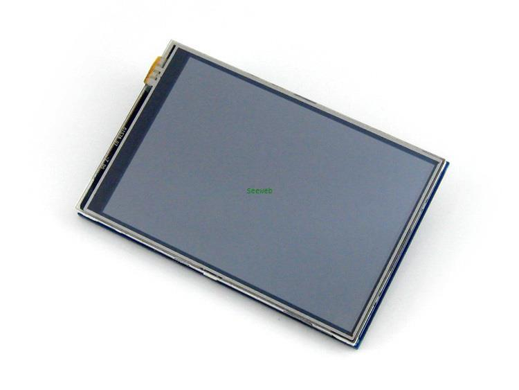 Freeshipping 3.5 inch raspberry pi 3 Touch Screen TFT LCD Designed for Raspberry Pi B , B+ 320×480 resolution