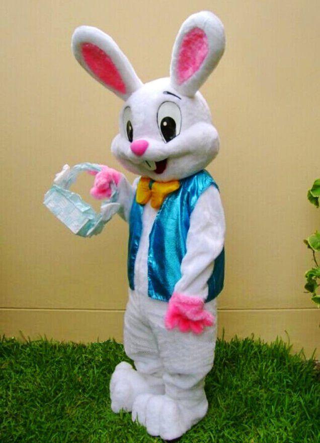 2019 vente chaude usine PROFESSIONNEL LAPIN Mascotte Bugs Lapin Lièvre adulte Déguisements Costume Cartoon