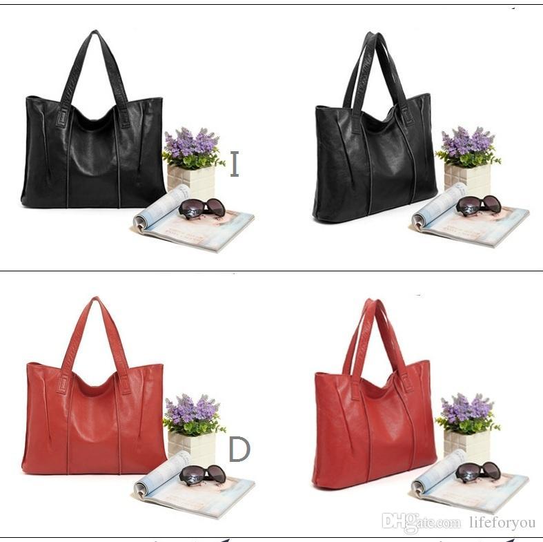 Para mujeres de lujo bolsos de diseño de bolsos de diseño bolsos bolsos bolsas de cuero genuino para bolso casual qcdnw