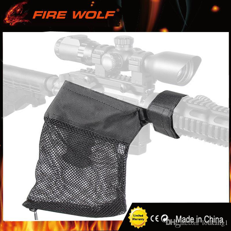 حريق الذئب AR-15 الذخيرة النحاس قذيفة الماسك شبكة فخ انغلق إغلاق ل تفريغ سريع نايلون شبكة الأسود شحن مجاني