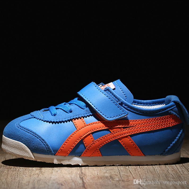 2019 Asics OnitsukaTiger Zapatos Para Niños C6B5Y 4209 Zapatillas Para Correr Zapatos Para Niños Y Niñas Zapatillas De Deporte Para Niños Diseñador