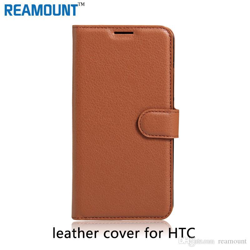 40 Stück hochwertige echte Flip Ledertasche für HTC One X G23 S720E Leder Abdeckung für S720E Handytasche für HTC Desire 10 PRO