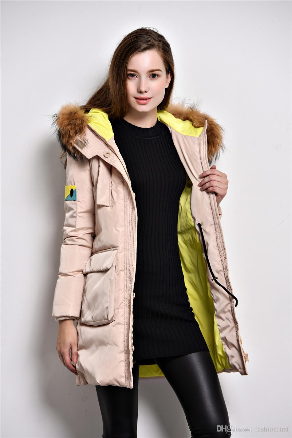 25e5df7091b ... High Quality Hood Winter Jacket Lady Hooded Thick White Duck Down Black  Coat Women Winter Ladies