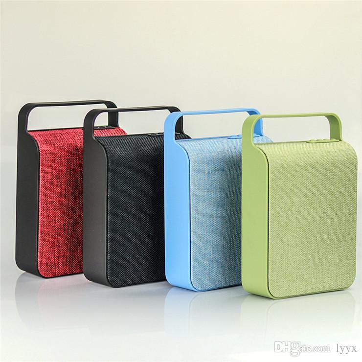 Super Bass New Listing Canvas Bluetooth Speaker HS-345 Portable High Power Bluetooth Speaker Card Mini Audio Subwoofer