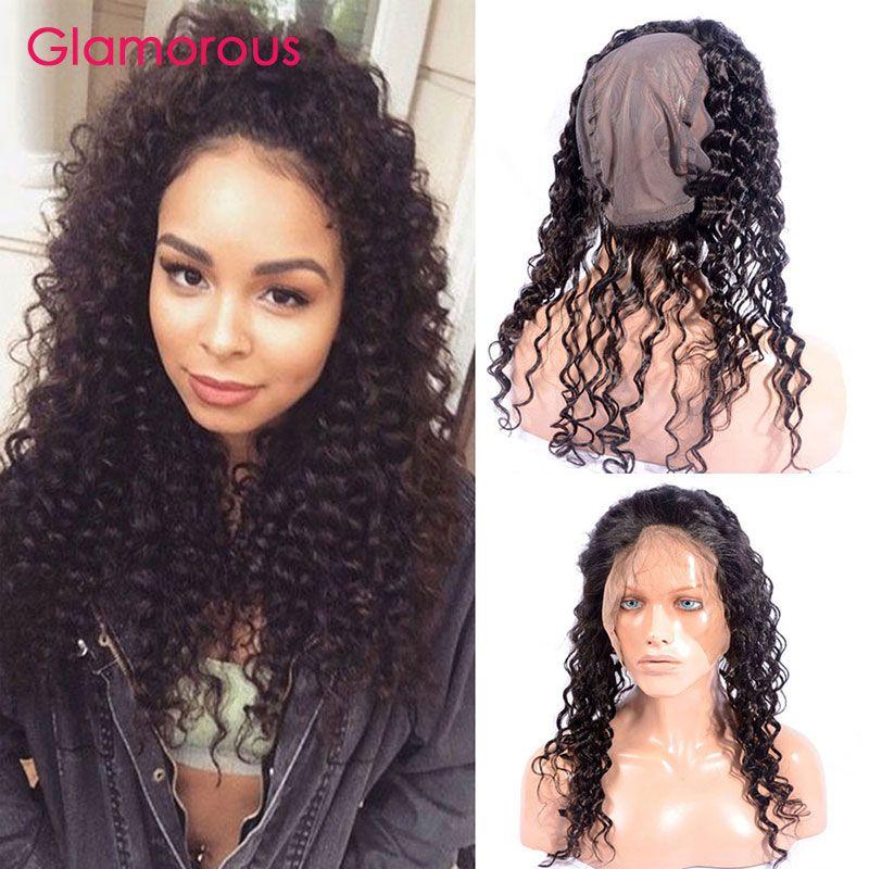 Glamorous Brazilian Deep Wave Curly Hair