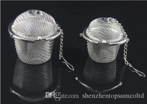 Colador de Té de Acero Inoxidable Infuser Tea Locking Ball Tea Spice Mesh Herbal Ball herramientas de cocina