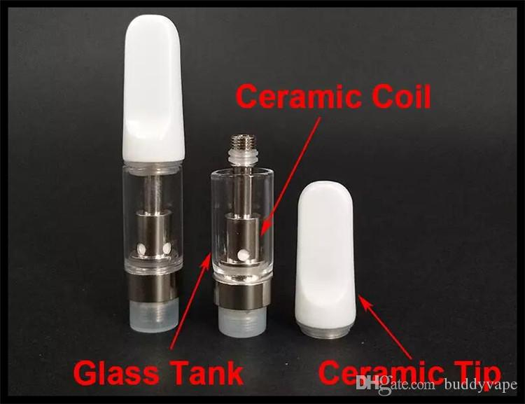 mini e cigarette dual coil ceramic glass cartridge atomizer bud pen vaporizer fit for preheating 400mah twist vv battery 2017
