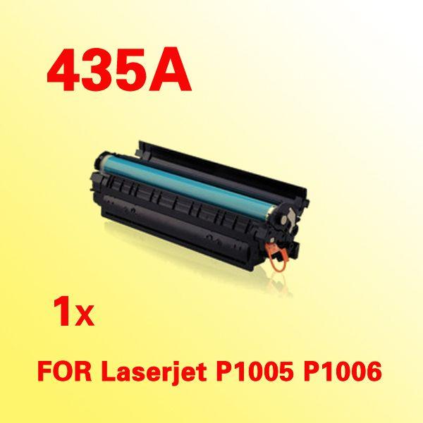 Cartuccia di toner compatibile CB435A 35A 435 435a per hp435a per le stampanti HP LaserJet P1005 P1006
