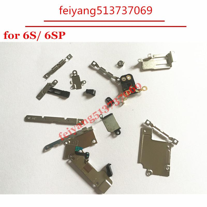 """10set 22 in 1 Original New For iPhone 6S 4.7"""" 6s Plus Internal Replacement Fastening Brackets Inner Small Parts Set"""