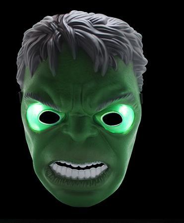 Maschere di Halloween LED Maschera Glowing maschera illuminazione giocattolo capitano Adult Party Decor America del regalo Masquerade decorativo