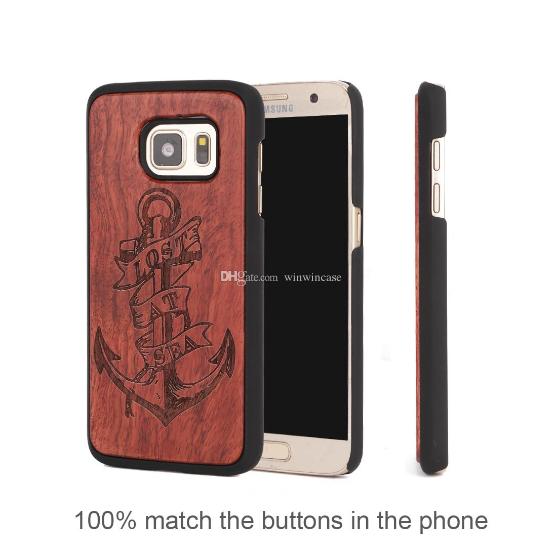 For Samsung galaxy s7 edge note 5 s8 plus s6 edge wood cell phone cases laser engrave phones cover Shenzhen phone accessory supplier