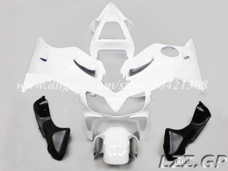 Blanc pour Honda CBR600F4i 2001 2002 2003 CBR600F4i 01 02 03 CBR600 F4i 2001-2003 2002 kits de carénage # b127k carénages d'injection + cadeaux