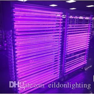 T8 G13 LED UV 395-400nm 365nm 5 pi 4 pi 3 pi 2 pi 100-240V Tube Lumières 24-144LED CE ROHS FCC PF0.95 Blubs lampe désinfection par rayonnement ultraviolet Germ