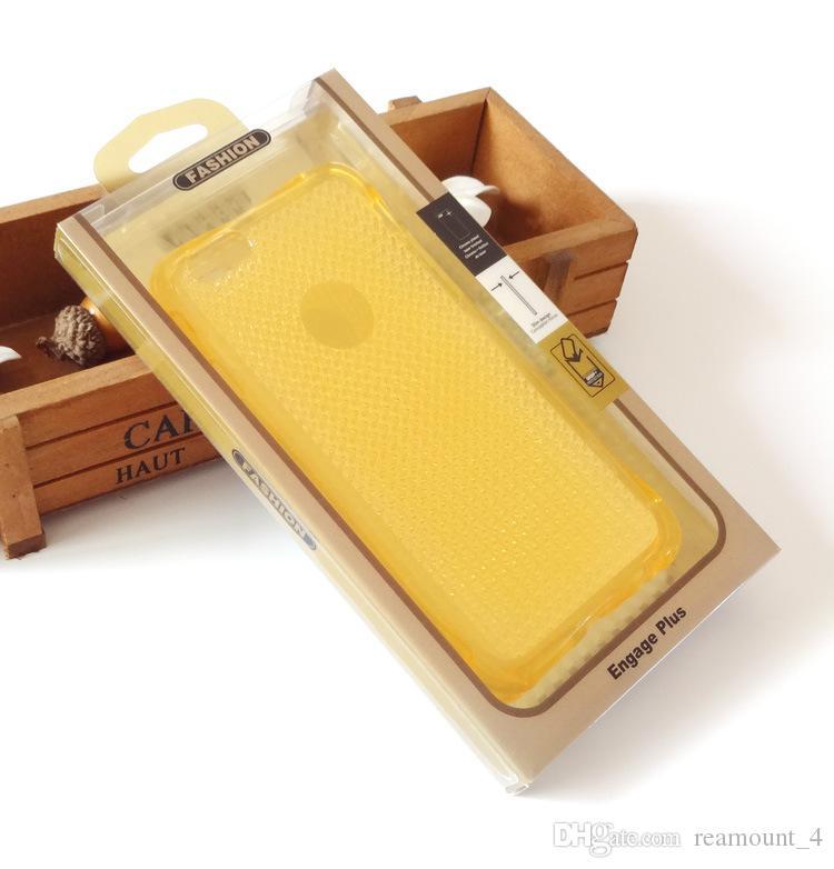 Klassische PVC-Großhandelsverpackungspaket-Kasten für iPhone 7 7 plus Telefon-Kasten für Fahrwerk G6 V20 V10 mit inneren Behältern
