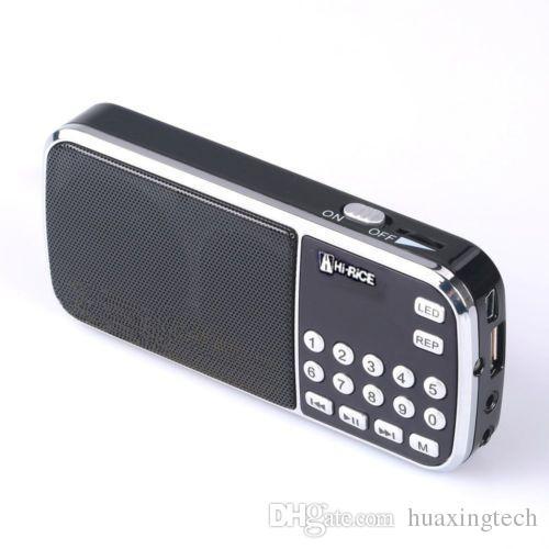 Hallo-Reis SD-101 Digital FM / AM Radio USB TF Mp3-Player Lautsprecher Geschenk für Eltern