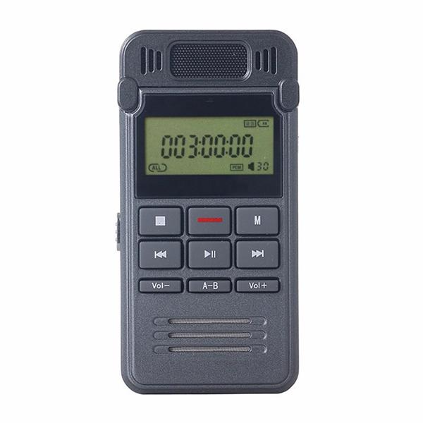 8GB Noise Reduction HD Digital Audio Voice Recorder MINI Dictaphone Telephone Recording with LCD Display MP3 Player in retail box
