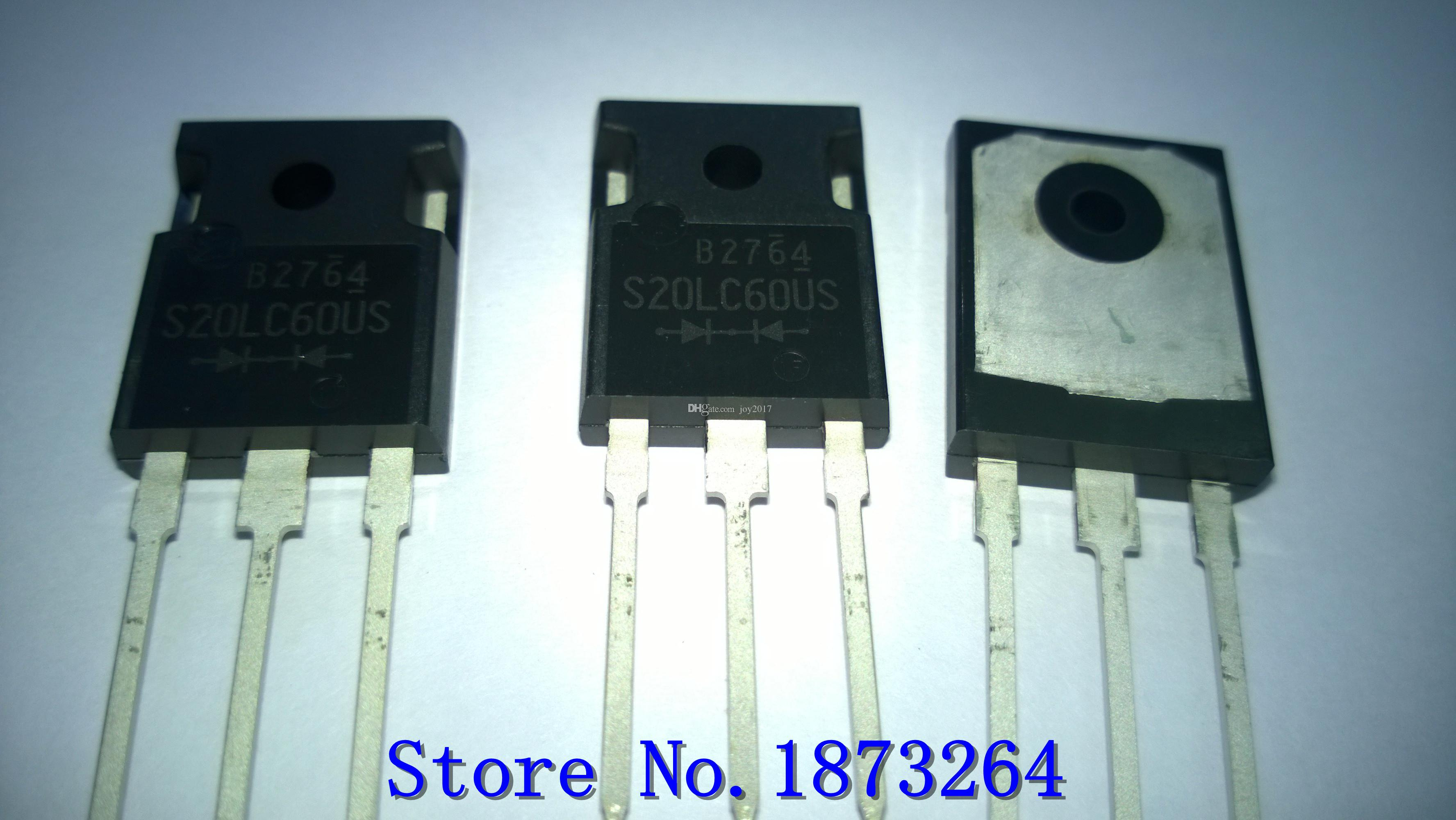 Livraison gratuite S20LC60US 20LC60 S20LC60 TO3P Nouveau et original 10PCS / LOT